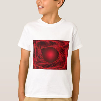 Abstract red tees