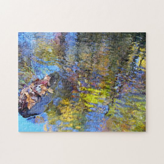 Abstract Reflections Puzzle