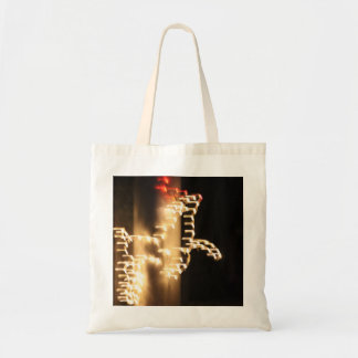 Abstract Reindeer Budget Tote Budget Tote Bag