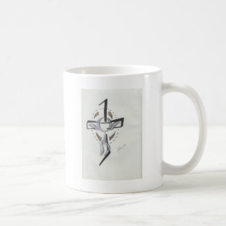 Abstract Religious Coffee Mug