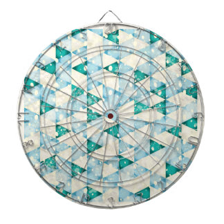 Abstract retro background dartboards