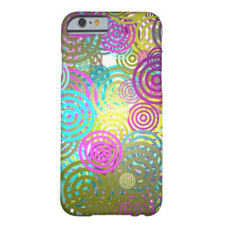 Abstract Retro circle pattern Barely There iPhone 6 Case