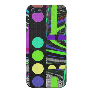 Abstract Retro Design iPhone 5 Cases