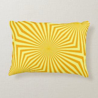 Abstract Retro Sunbeam Decorative Cushion
