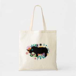Abstract Rhino Budget Tote