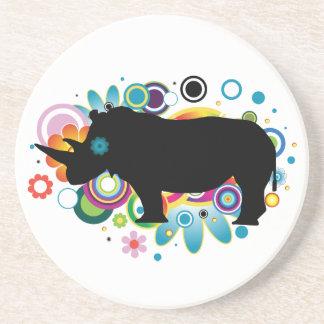 Abstract Rhino Coaster