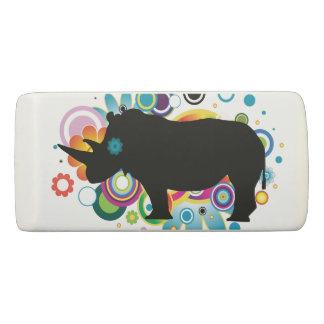 Abstract Rhino Eraser