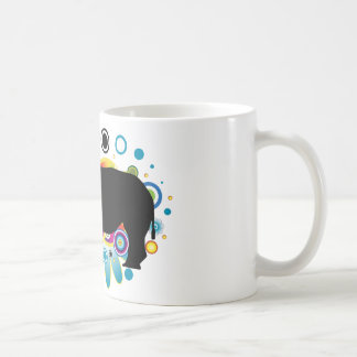 Abstract Rhino Mug