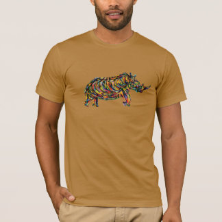 Abstract Rhino T-shirt