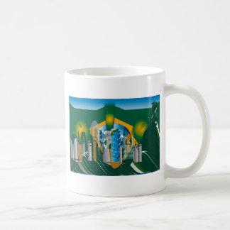 abstract Rio skyline Coffee Mug