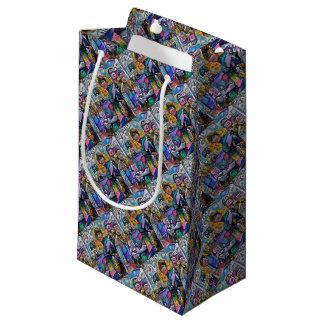 Abstract rock band small gift bag