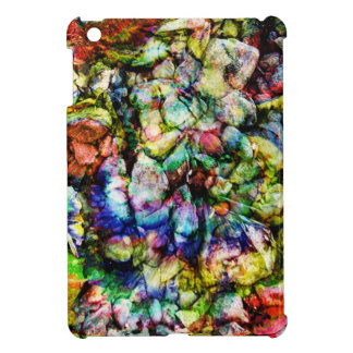 Abstract Rock Women Cover For The iPad Mini