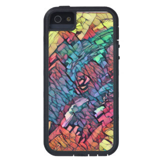 Abstract rose iPhone 5 cover