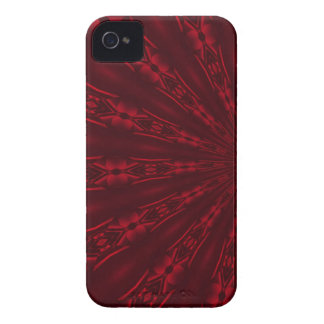 Abstract Ruby Red Design Blackberry Case