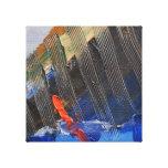 Abstract sail canvas prints