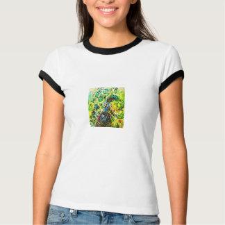 Abstract Sax Tshirts