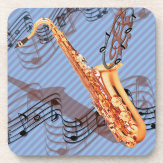 Abstract Saxophone Coasters