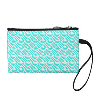 Abstract scales coin purse