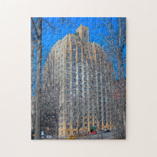 Abstract Scene . Central Park New York. Jigsaw Puzzle