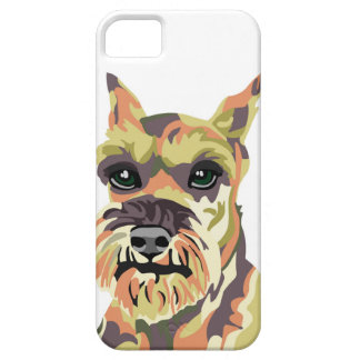 Abstract Schnauzer iPhone 5 Covers