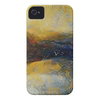 Abstract sci-fi alien worlds iPhone 4 Case-Mate case