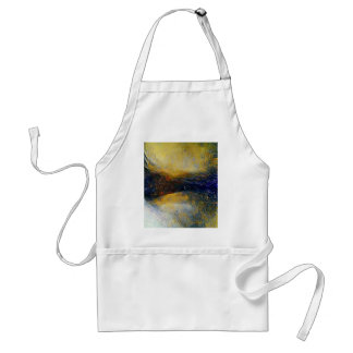 Abstract sci-fi alien worlds standard apron