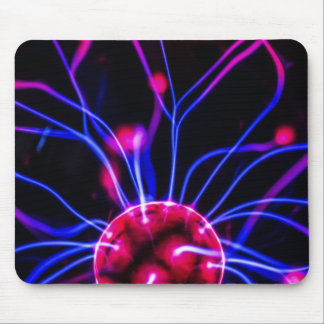 Abstract Science Plasma Ball Lamp Mouspad Mouse Pad