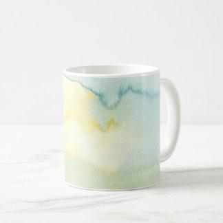 Abstract Scottish Loch Watercolour Painting Mug