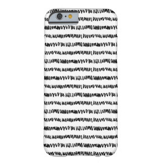Abstract Scribble Wavy Pattern, iPhone 6/6s Case