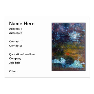 Abstract, Sea at Night. Business Cards