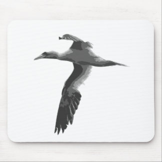 Abstract Sea Birds Mouse Pad