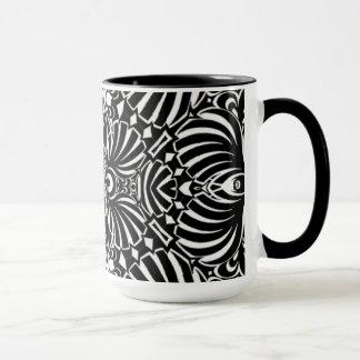 Abstract Sea Shells Mug