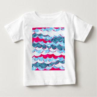 Abstract Sea Waves Design Baby T-Shirt