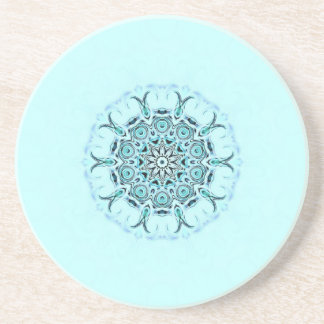 abstract seafoam coaster