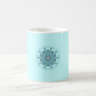 abstract seafoam coffee mug