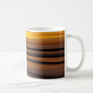 Abstract seascape at sunset, CA Coffee Mug