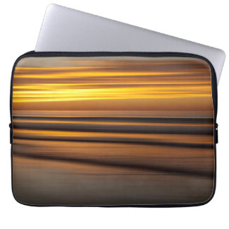 Abstract seascape at sunset, CA Laptop Sleeve