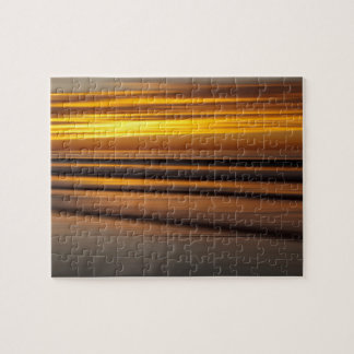 Abstract seascape at sunset, CA Puzzle