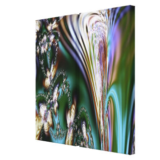 Abstract Seashell Canvas Print