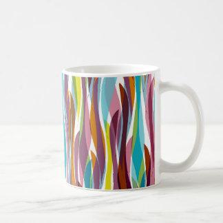 Abstract seaweed coffee mug
