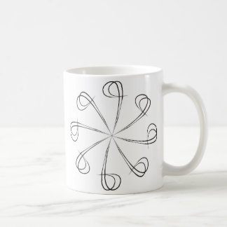 Abstract shape coffee mug