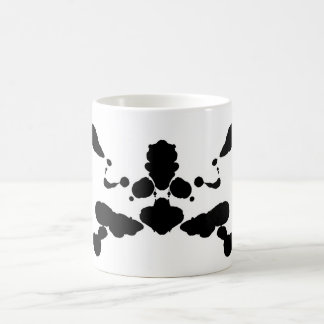 abstract shape psychological test board Rorschach Basic White Mug