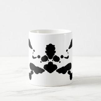 abstract shape psychological test board Rorschach Coffee Mug