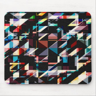 Abstract Shapes And Colors Mouse Pad