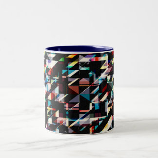Abstract Shapes And Colors Mugs