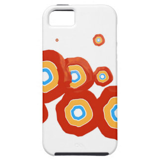 Abstract shapes iPhone 5/5S cover