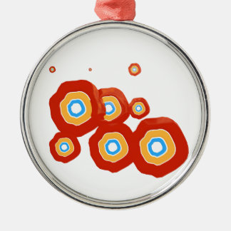 Abstract shapes ornaments