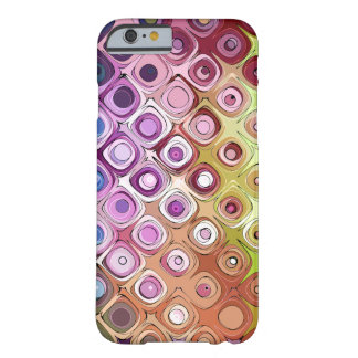 Abstract Shapes Doodle Barely There iPhone 6 Case