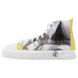 Abstract shapes high tops