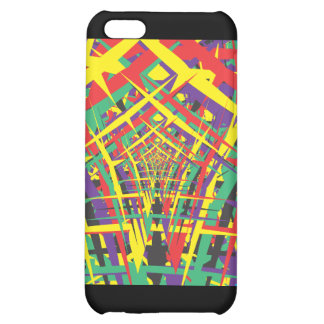 Abstract shapes case for iPhone 5C